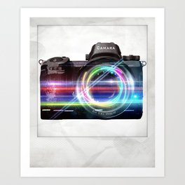 polaroids / camera Art Print