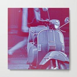 scooter violet tonton AL Metal Print