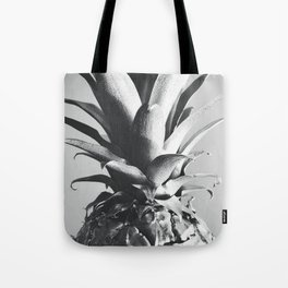 Silver Pineapple Tote Bag