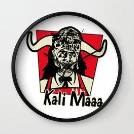 Kali Maaa Wall Clock