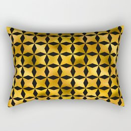 Art Deco Du Monde Pattern Rectangular Pillow