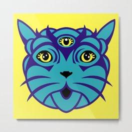 Third Eye Catnip Metal Print
