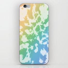 Rainbow Tie-Dye iPhone Skin