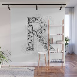 Color Me R Wall Mural