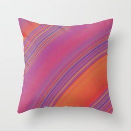 like the rings of saturn Throw Pillow