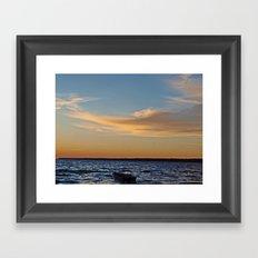 Sylvan Beach Framed Art Print