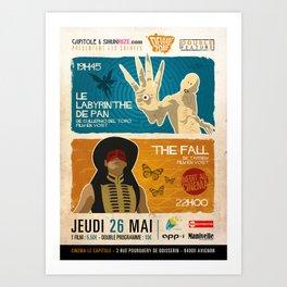 Labyrinthe de Pan/The Fall Art Print
