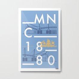 Etihad Stadium - Manchester City Metal Print