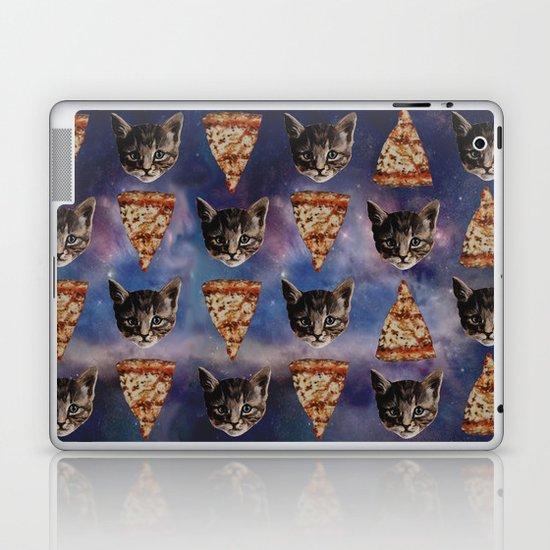 Kitten Pizza Galaxy  Laptop & iPad Skin