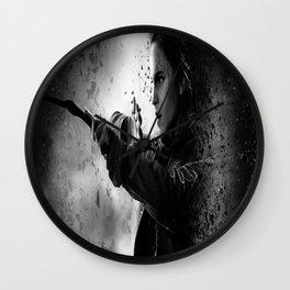 Hermione dark Wall Clock