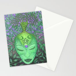 Earth Goddess Tree of Life Stationery Cards
