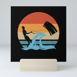 Sailing Retro Sailer Gift Mini Art Print