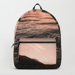 Sunset at the Mountain Lake - Nature Photography Backpack