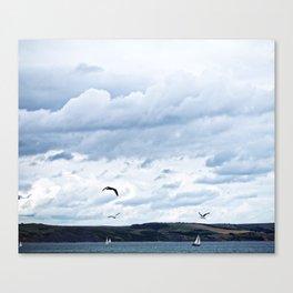 Sailboats & Skies Canvas Print