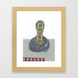 "STEVEN DANA COOKIE CUTTER ""BE UNIQUE"" Framed Art Print"