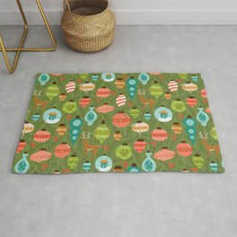 Mid Century Ornaments - Traditional Rug