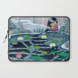 Reflection of Self and Letting it Go Laptop Sleeve