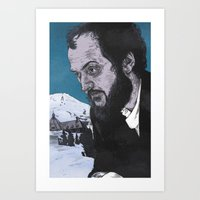 kubrick Art Prints featuring Stanley Kubrick by Andy Christofi