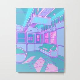 Train to Tokyo Metal Print