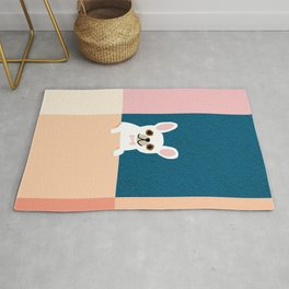 Little_French_Bulldog_Love_Minimalism_001 Rug