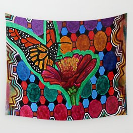 Cindy's Butterfly Wall Tapestry