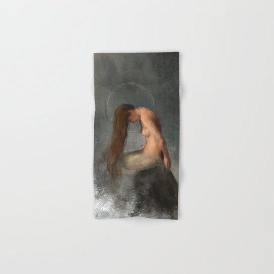 Pensive Mermaid Hand & Bath Towel