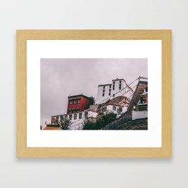 Ladakh Monastery Framed Art Print