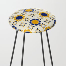 Lisboeta Tile Counter Stool