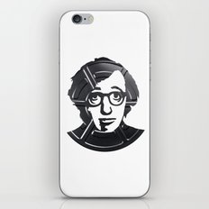 Woody Allen iPhone & iPod Skin