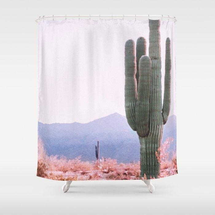 Warm Desert Shower Curtain