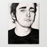 lee pace Canvas Prints featuring Lee Pace by nonlocality