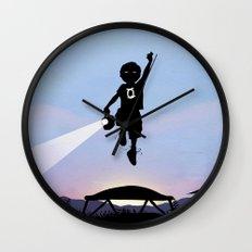Green Lantern Kid Wall Clock