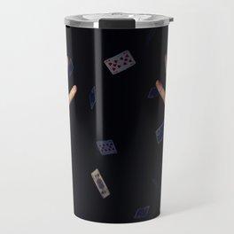 aces in sleeve Travel Mug