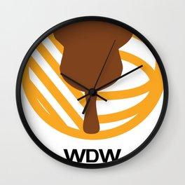 WDW Kingdomcast - Classic logo Wall Clock