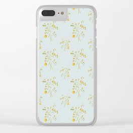 Fields of Buttercups Clear iPhone Case
