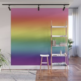 Pride Rainbow Flag Gradient Wall Mural