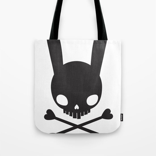 SKULL BUNNY OF PIRATES Tote Bag