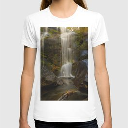 Smooth Waterfall (Color) T-shirt