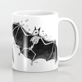 Skeletal Bat Coffee Mug
