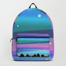 Winter Stripes Backpack