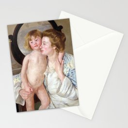 Mary Cassatt Mother and Child Stationery Cards