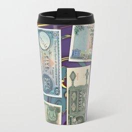 Money-Collage Travel Mug