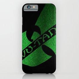 wu-tang game green iPhone Case