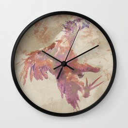 Cockfight Wall Clock