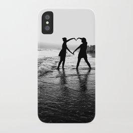 Love BW iPhone Case