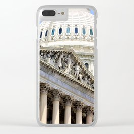 House Wing Clear iPhone Case