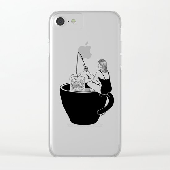 Laid-Back Time Clear iPhone Case