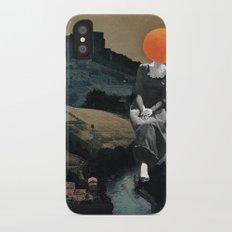 Lady Moon Head iPhone X Slim Case