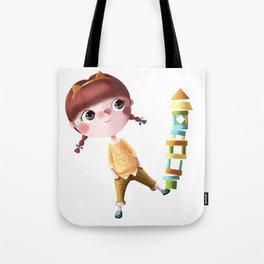 N de Tina Tote Bag