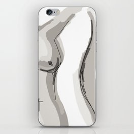 Nude Belly iPhone Skin